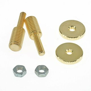 BSWKIT-GG        Bridge Stud/Adapter, Gold Gloss (one pair)