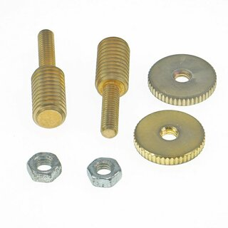 BSWKIT-GA        Bridge Stud/Adapter, Gold Aged (one pair)