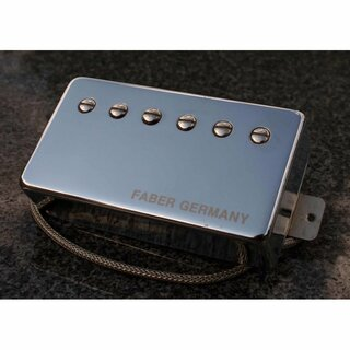 PUPCG-NNG        	Faber Pickup Concerto grosso -Neck- Classic 59 PAF -hand wound- Germany, Cover nickel plated