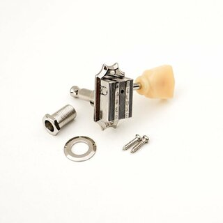 FKT33BB-NG	Faber Kluson style tuners, 3+3, bolt bushing, nickel glossy