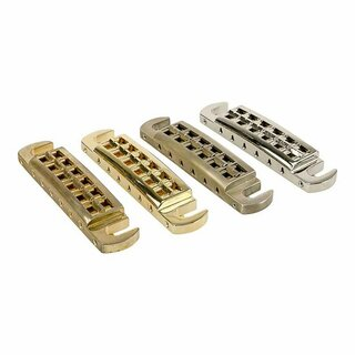 WRAPT-GG        	Faber Wraptonate, Intonatable Stoptail Bridge, Gloss Gold