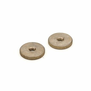 TW-INA (2 pcs.)	thumbwheels, inch 6-32, nickel plated, aged