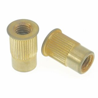 TPI-MAG        	Faber 8mm Tailpiece Inserts (pair) Steel, gold plated, aged, d inside = 8mm