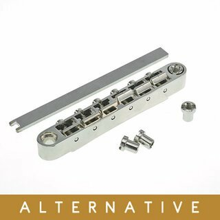 ABRL-59NG        ABR-59 No Wire Vintage Spec Bridge, pat. pend. Locking System, nickel plated saddles, gloss